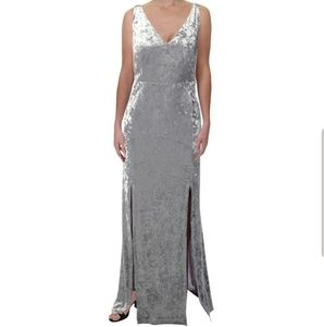 NWT Calvin Klein Velvet Gown